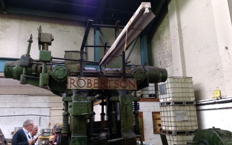Robertson 4Hi Reversing Cold Mill for Stainless and High Strength Steel Strip