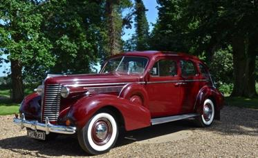 1938 BUICK ROADMASTER RHD 4DR SEDAN