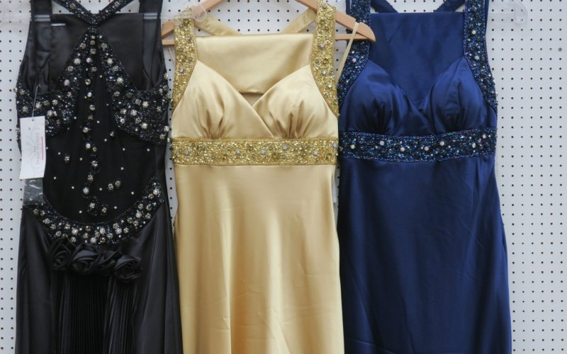 Large Quantity of Evening, Prom, Ballgown & Bridesmaid Dresses