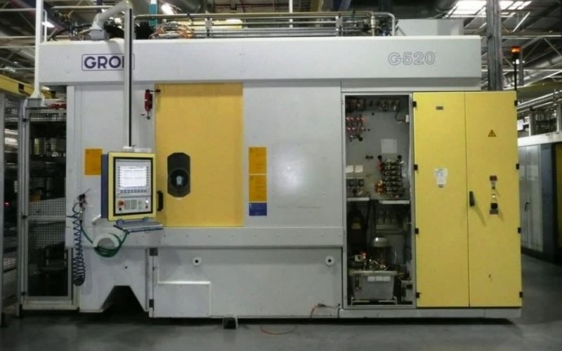 4 x GROB G520 4 Axis CNC Machining Centres
