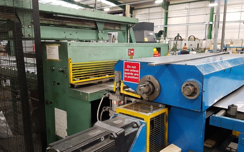 Dimeco 1300mm Cut to Length Line for Stainless Steel & Aluminium