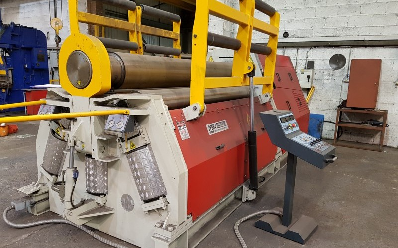 For Sale 2017 Morgan Rushworth Model DPBH – 4 2550/350 Hydraulic 4 Roll Bending Rolls