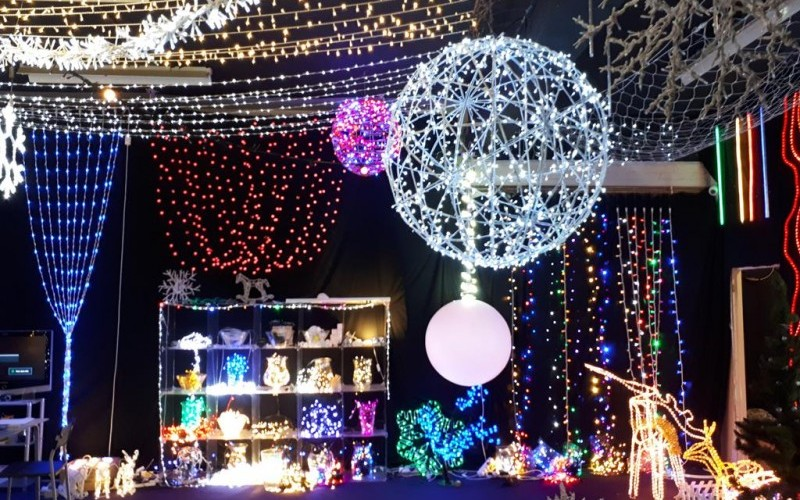 Large Quantity of Commercial LED Festive Lighting & Warehouse Equipment