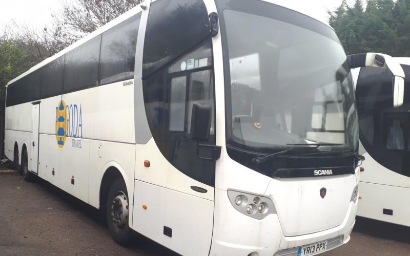 Scania & Sunsundegui Luxury Coaches