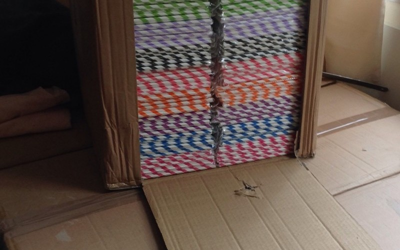 500,000 Coloured Paper Drinking Straws
