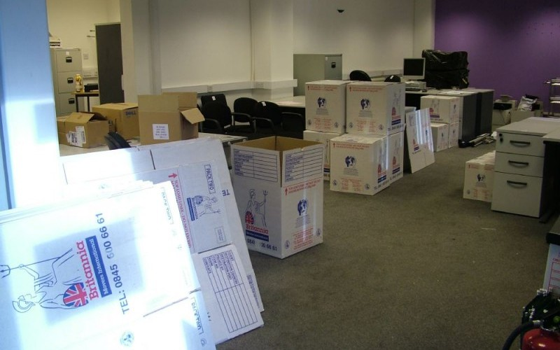 Dismantling, packing and shipping