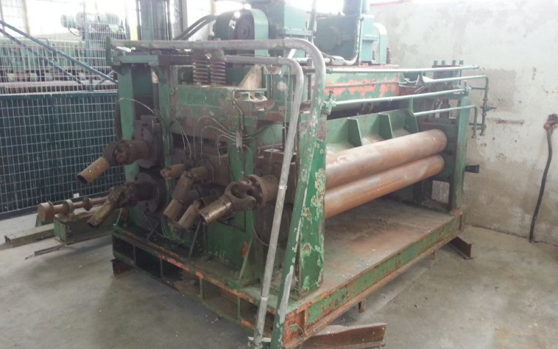 Wean Damiron Steel Cut To Length and Levelling Line