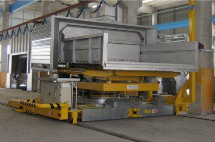 Tomorrow Technology Rail Mounted Automatic Furnace Charging Machine