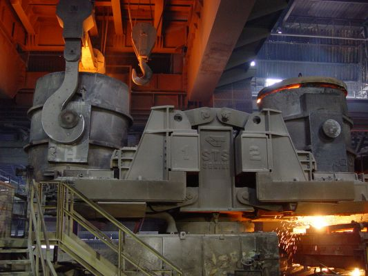 Complete 800,000 TPA Capacity Steel Making Facility