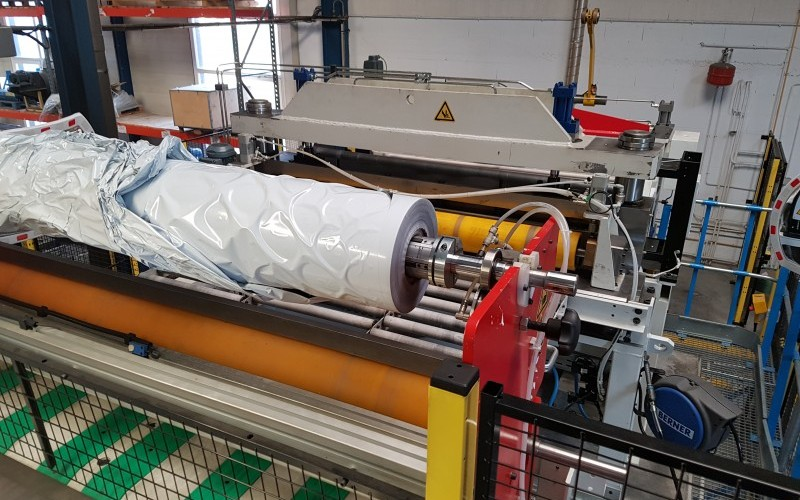 2014 Dimeco Aluminium Recoiling Line with Levelling & Shearing