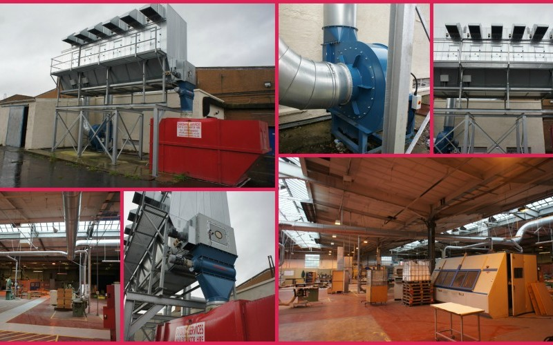 2016 High Volume Dust Extraction Unit
