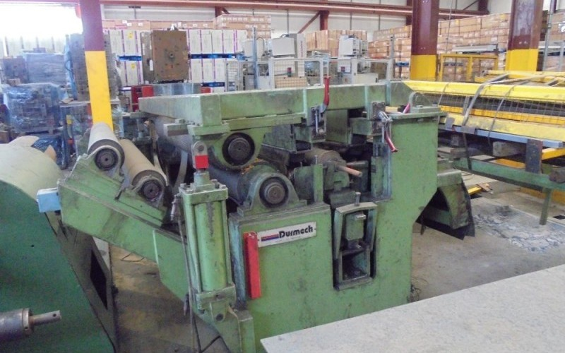 Durmech 3.2mm x 1500mm Slitting LineDurmech 3.2mm x 1500mm Slitting LineDurmech 3.2mm x 1500mm Slitting LineDurmech 3.2mm x 1500mm Slitting LineDurmech 3.2mm x 1500mm Slitting Line