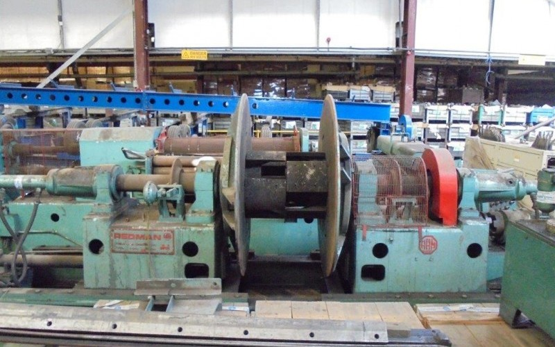 Redman 1350 x 3mm Slitting Line