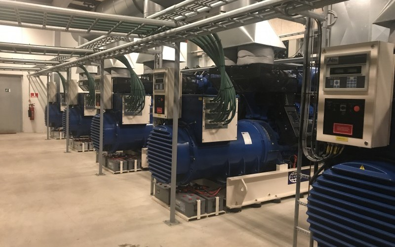 4 x 20mW High Efficiency Diesel Power Plants – For Immediate Sale