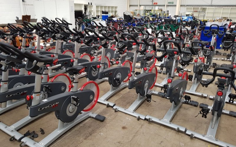 Selection of Gym Equipment