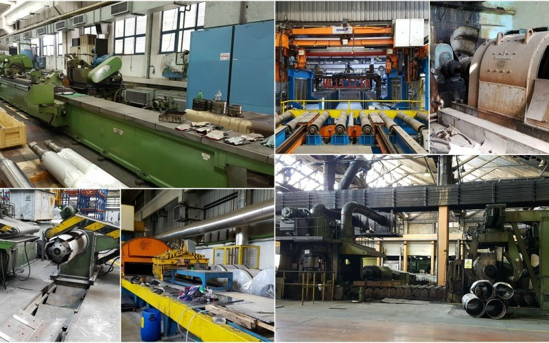 Aluminium Slab Processing & Rolling Equipment