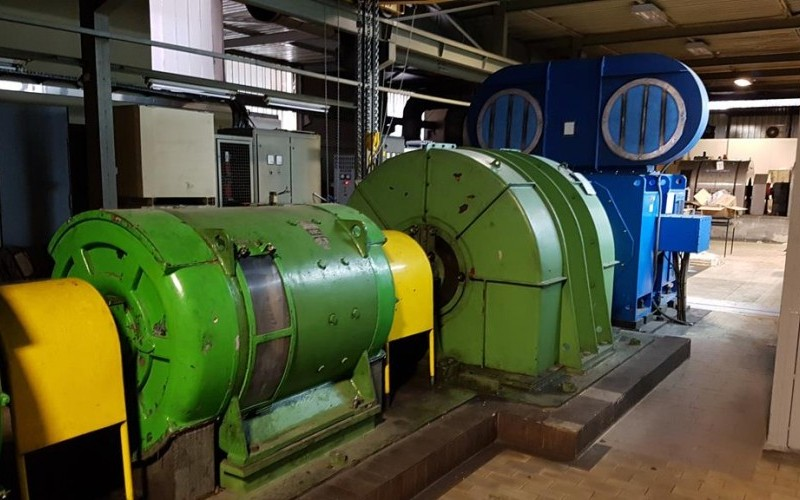 Achenbach 4Hi Reversing Cold Breakdown Mill