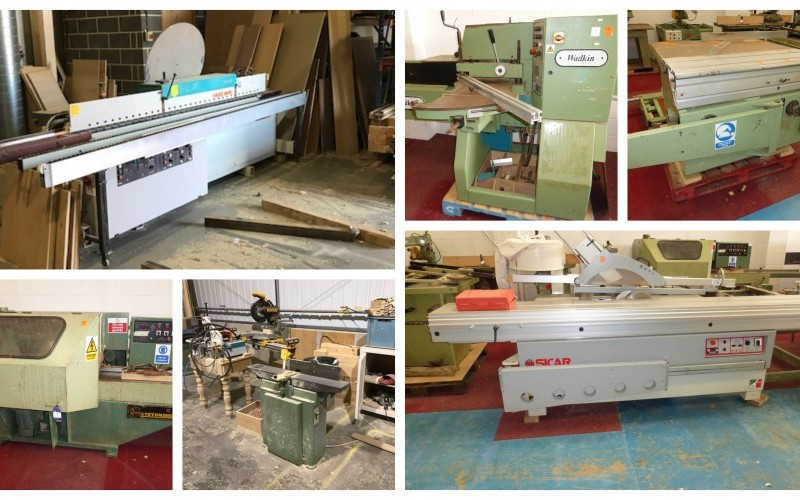 Extensive Range of Woodworking Equipment