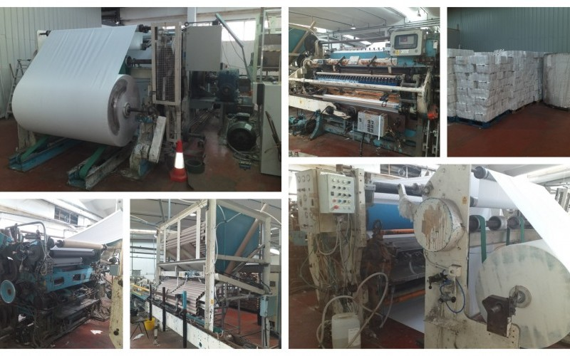 Fabio Perini Tissue Converting Line - Output approx 3300 rolls/hour