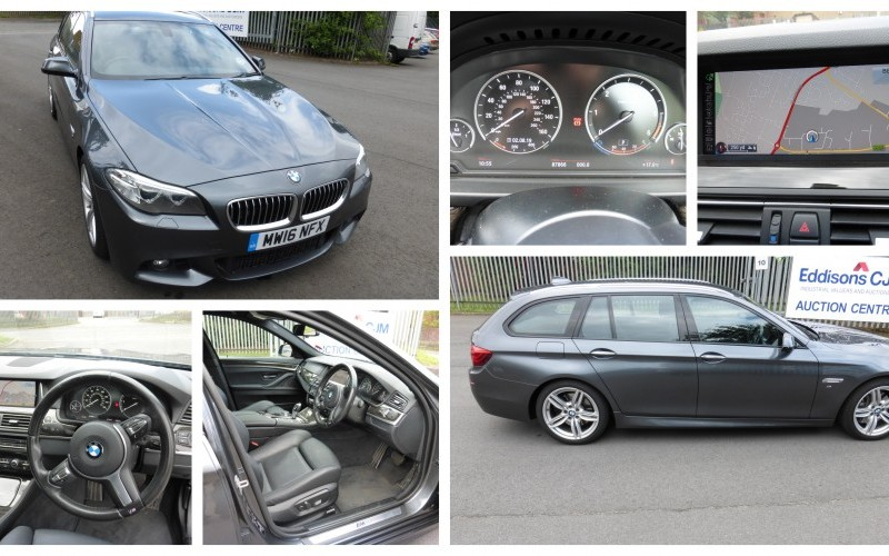 2016 BMW 530D M Sport Estate