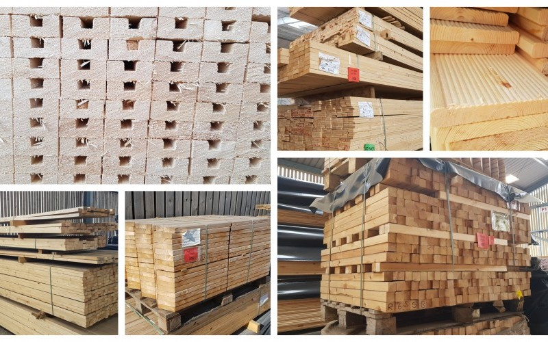 Wide Range of Surplus & Oddment Timber - Cancelled Export Order!