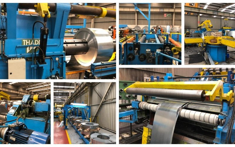 Very Tidy Athader Steel Coil Slitting Line