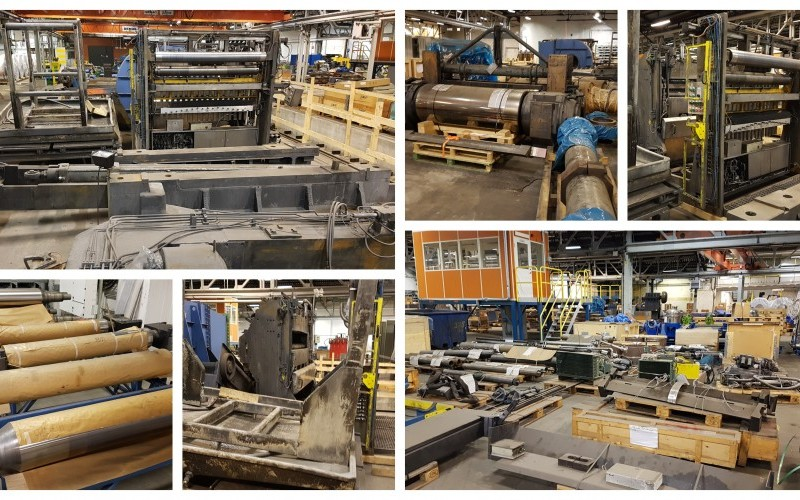Refurbished Fata Hunter 1700mm Doubling Foil Mill