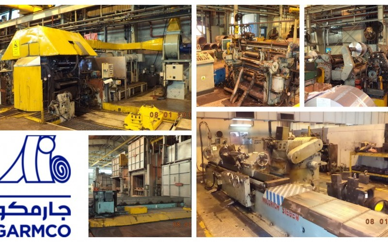 20,000 TPY Narrow Foil Mill Plant