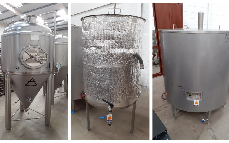 Stainless Steel Microbrewery and Fermentation Vessels