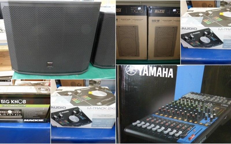 A Range of Audio Equipment