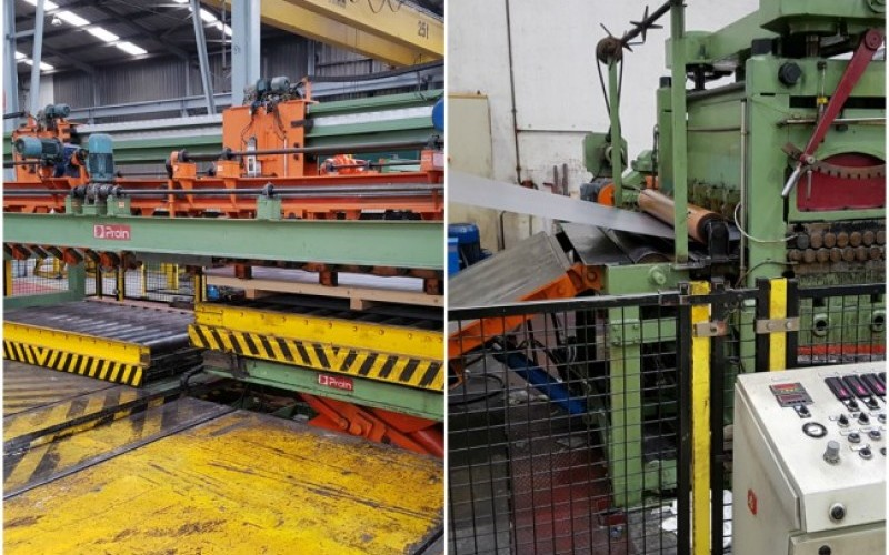 Major Price Reduction! Good Quality Steel Coil Cut to Length LinesCut to length Line –T6 (R to L Operation)Cut to length Line –T6 (R to L Operation)