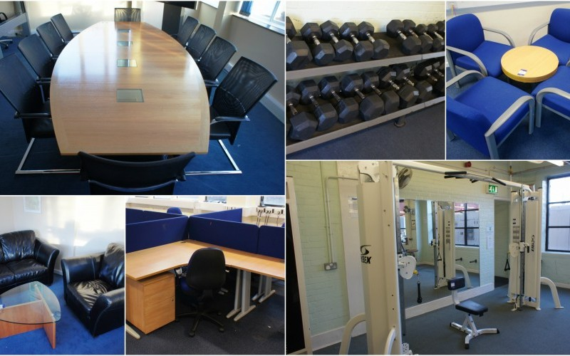 2000 Lots - Large Range of Matching Office, Meeting and Reception Furniture, Storage, Chairs, Business and Gym Equipment
