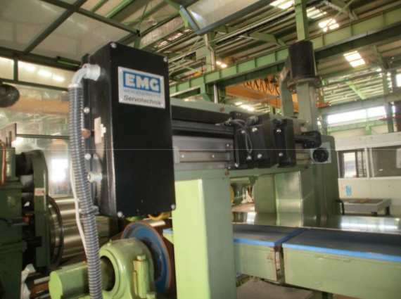 Sundwig Tension Levelling Line