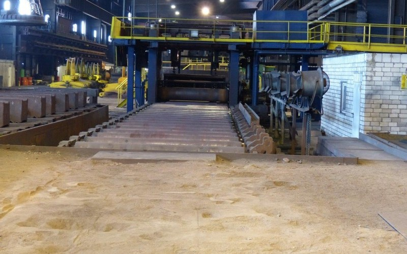 2006 RBHRR250 Hot Leveller for Hot Rolled Steel Plate upto 250mm thick