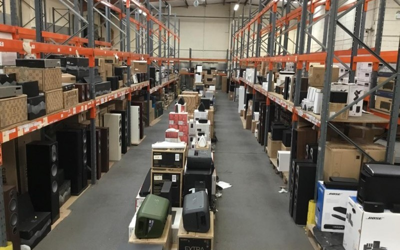 Important 2 Day Auction - High End Audio Visual Equipment Manufacturers to Include Bose, Kef, Marantz, Wharfedale, Denon, Dali, Bowers & Wil