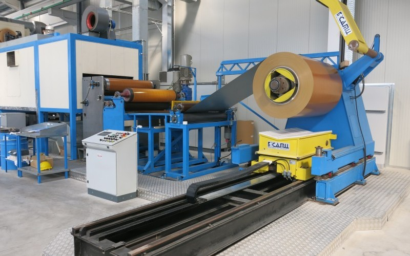 2014 Continuous Coil Coating Line for Aluminium Strip