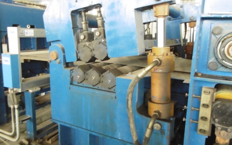 Late Model Electrolytic Strip Degreasing Line