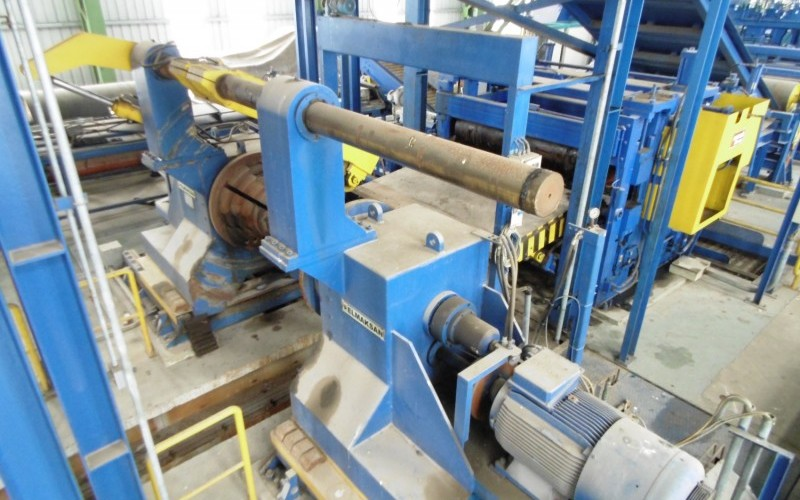 Stamco Heavy Duty Tension Levelling/Coil Improvement Line for Coiled Steel and Aluminium Plate
