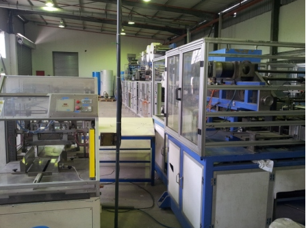 Diaper/Nappy Manufacturing Machine - Lying in South Africa