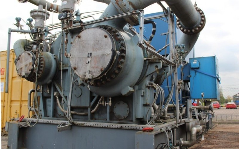 ATLAS COPCO GT050T4D2 FOUR-STAGE CENTRIFUGAL GAS COMPRESSOR