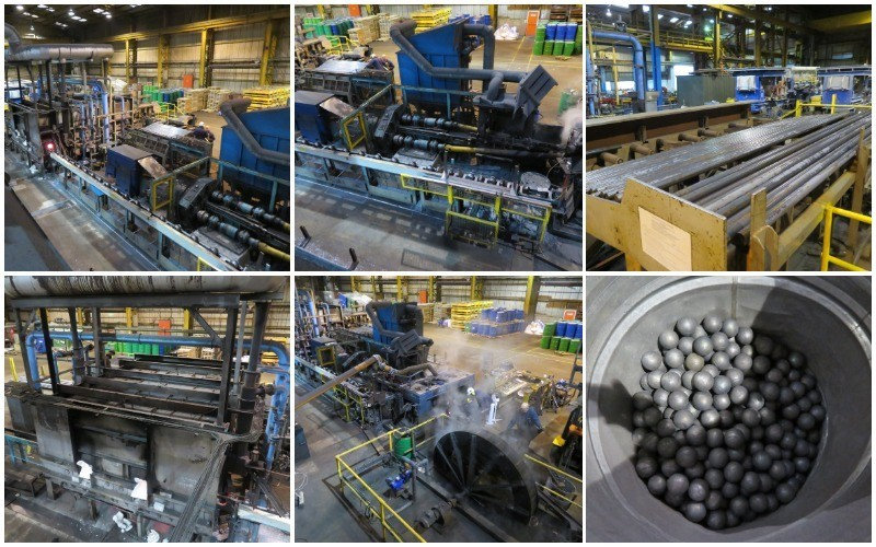 A Complete Plant for the Production of Rolled Steel and Forged Steel Balls for Milling & Grinding Media