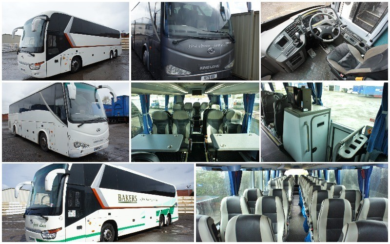 King Long XMQ Luxury Coach Fleet