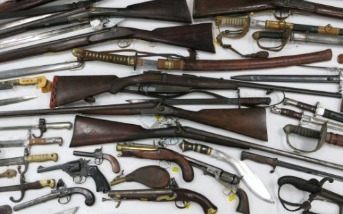 Collection of Antique Weapons to appear in August Antique Auction